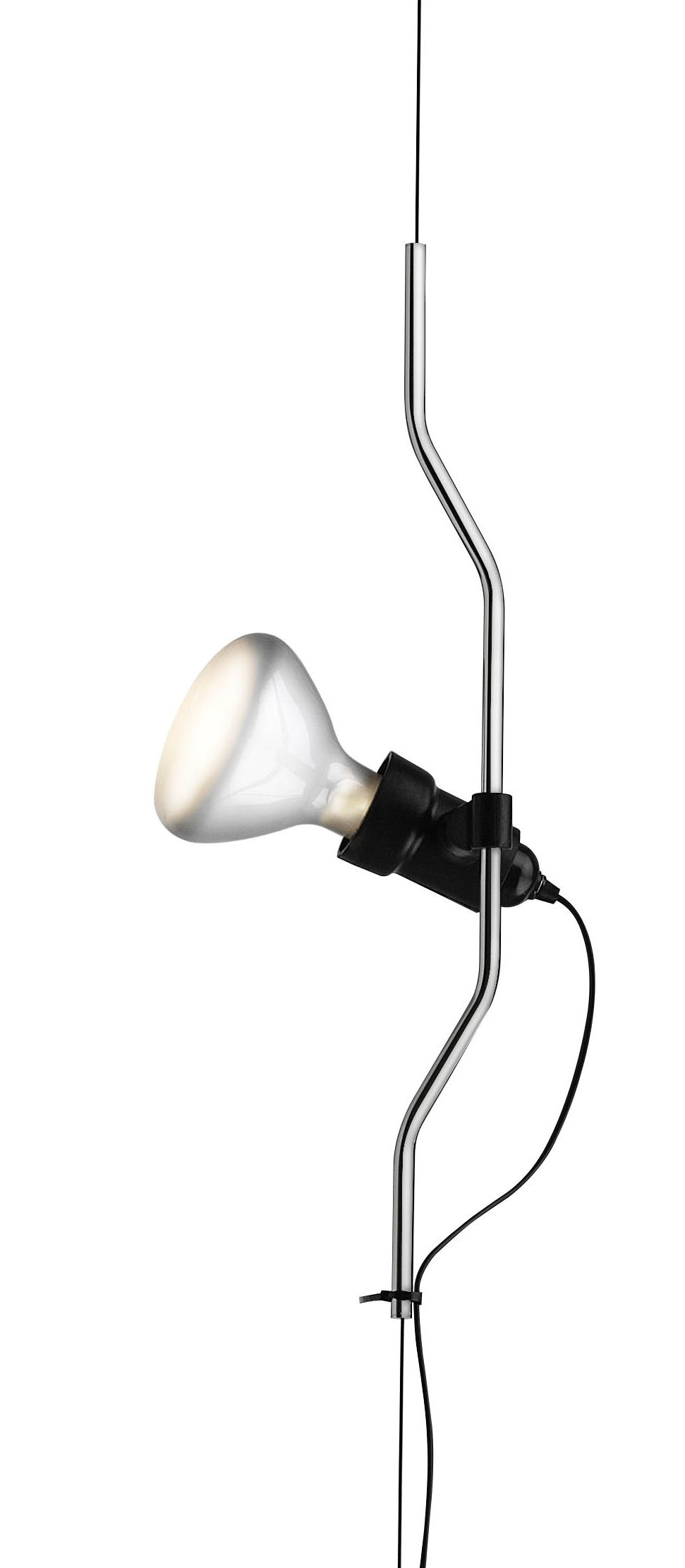 Nickel Complementary element for Flos lamp Parentesi On/Off